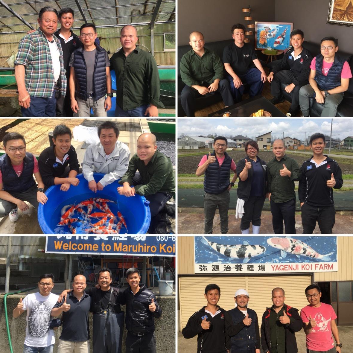 Marugen Koi Farm with Koi Breeders In Niigata Japan